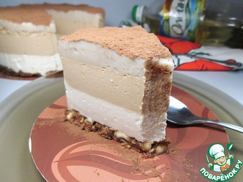 """Торт-суфле """"Кофе Латте"""" рецепт приготовления с фотографиями готовим #12"""