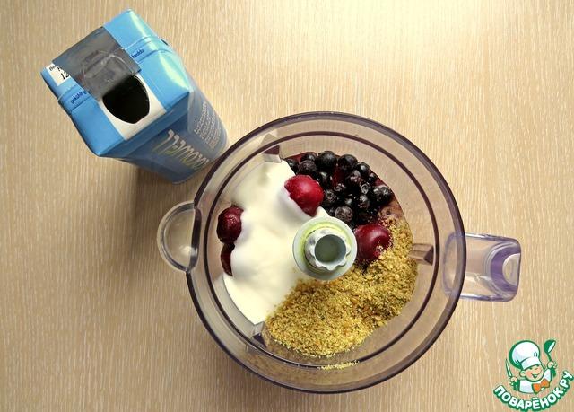 Как готовить Смузи на кокосовой воде домашний пошаговый рецепт с фотографиями #2