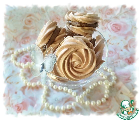 Как готовить Малиновые меренги с шоколадно-малиновой прослойкой простой рецепт приготовления с фотографиями #8