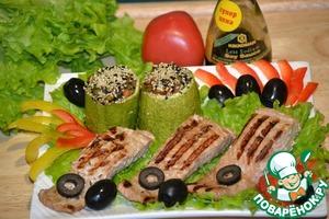 Рецепт Нежная рыбка-гриль