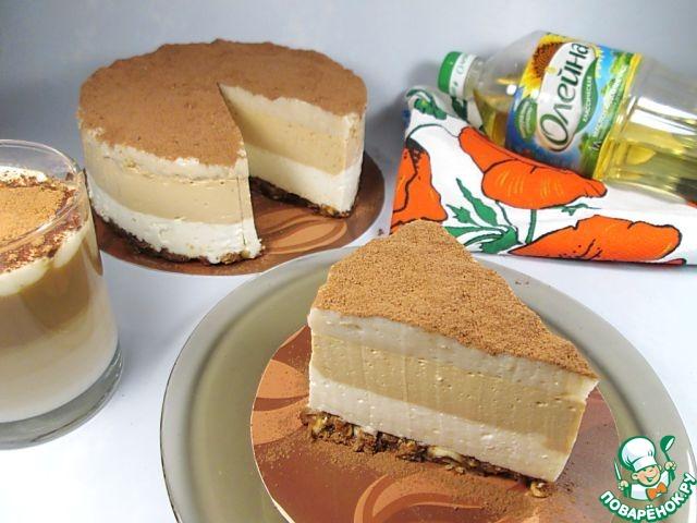 """Торт-суфле """"Кофе Латте"""" рецепт приготовления с фотографиями готовим #8"""