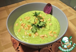 Готовим Суп-пюре с авокадо простой пошаговый рецепт с фотографиями