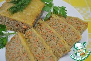Готовим Мясной хлеб с сырной корочкой пошаговый рецепт приготовления с фото