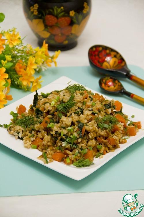 Как готовить рецепт с фото Пряные овощи с рисом #8