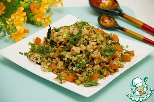 Как готовить рецепт с фото Пряные овощи с рисом #9