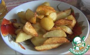 Жареная картошка вкусный рецепт с фотографиями готовим