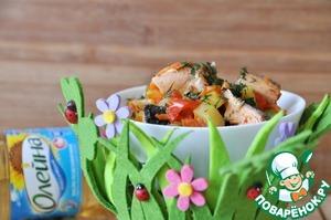Рецепт Кисло-сладкое рыбное рагу