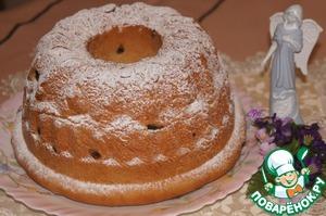 Рецепт Гугельхупф-немецкий пасхальный кекс
