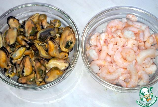 Рис с морепродуктами рецепт с фото пошагово как готовить #6