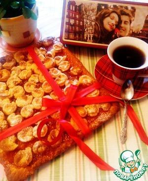 Рецепт Уютный пирог с абрикосовым джемом