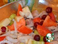 Весенний салат с сельдью ингредиенты