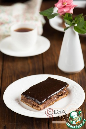 Рецепт Шоколадные пирожные в глазури