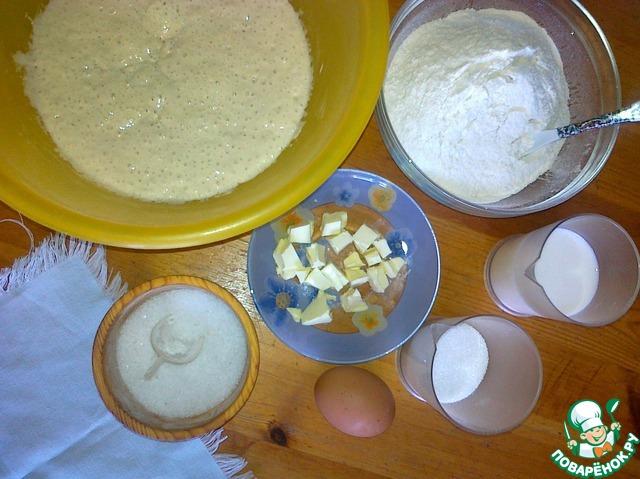 Готовим Сдобная коса на пшеничной закваске домашний рецепт с фото пошагово #2