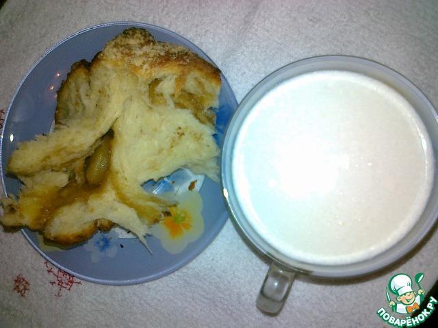 Готовим Сдобная коса на пшеничной закваске домашний рецепт с фото пошагово #20
