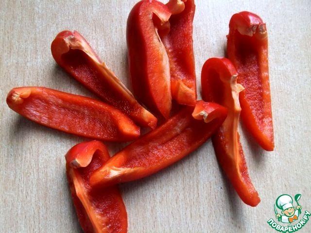 Как приготовить простой рецепт с фото Овощное ассорти в тесте #3