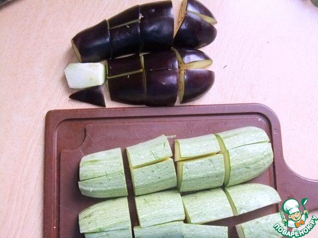 Как приготовить простой рецепт с фото Овощное ассорти в тесте #4