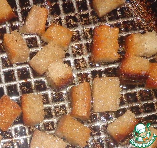 Салат с капустой и сухариками простой рецепт приготовления с фотографиями как приготовить #3