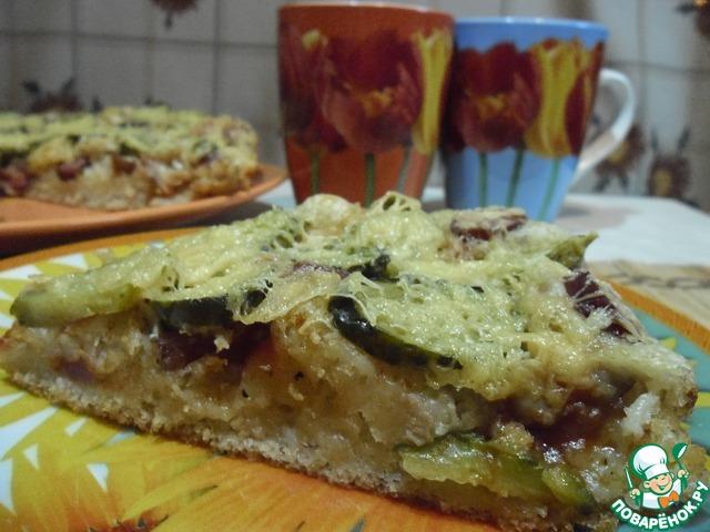 Пицца на постном дрожжевом тесте домашний рецепт приготовления с фотографиями #8