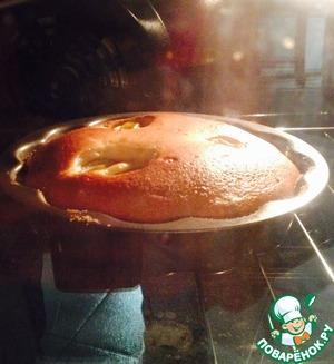 Рецепт Пирог йогуртовый с яблоками