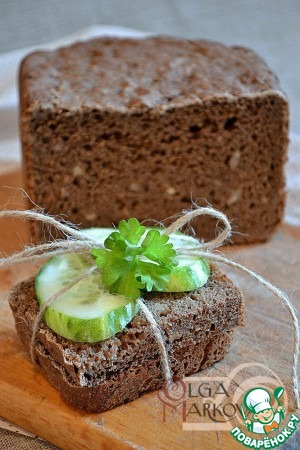 Как готовить Ржаной хлеб на чае и пиве рецепт с фото