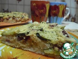 Рецепт Пицца на постном дрожжевом тесте