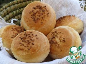 Рецепт Мягкие булочки на молоке