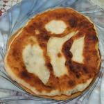 Лепешки с плавленным сыром
