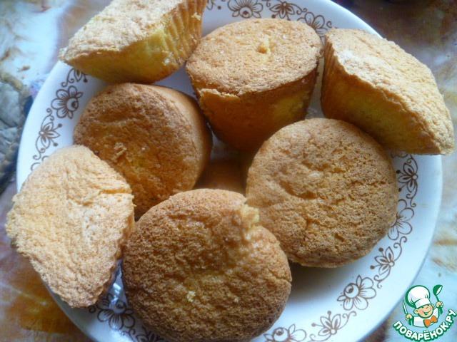 """Как приготовить вкусный рецепт с фото Пирожное """"Цветочный горшочек"""" #1"""