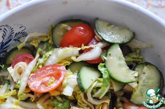 рецепт с маринованными морепродуктами