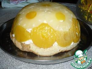 Торт Ананасово-Персиковый