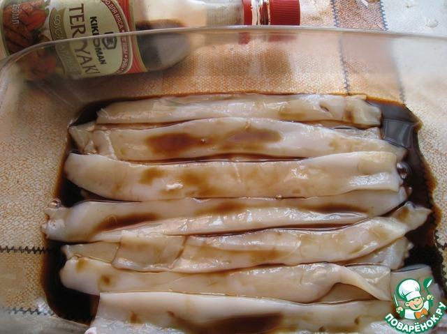 рецепт кальмаров для правильного питания