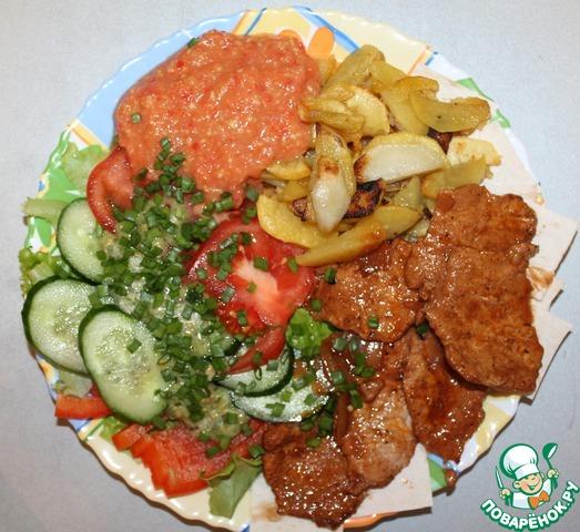 Свинина по-азиатски домашний рецепт с фотографиями #16