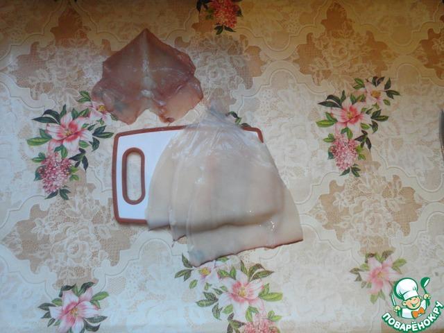 """Кальмары в соевом соусе """"Окинава"""" домашний рецепт с фото пошагово #1"""