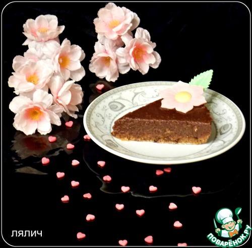"""Готовим домашний рецепт приготовления с фото """"Сырой"""" шоколадно-ореховый торт #6"""
