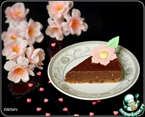 """Готовим домашний рецепт приготовления с фото """"Сырой"""" шоколадно-ореховый торт #7"""