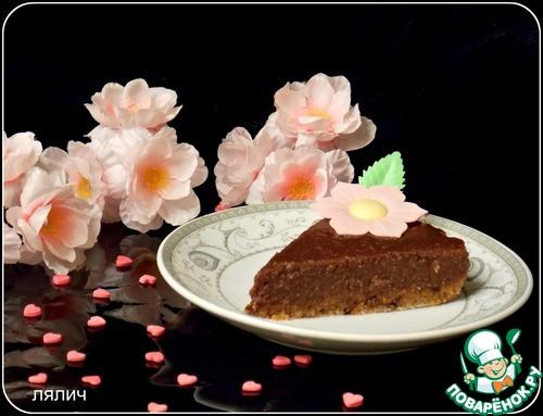 """Готовим домашний рецепт приготовления с фото """"Сырой"""" шоколадно-ореховый торт #8"""