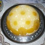 """Торт ананасово-персиковый """"Купол"""""""