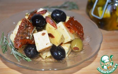 Маринованный сыр вкусный рецепт приготовления с фото #6
