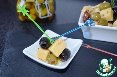 Маринованный сыр вкусный рецепт приготовления с фото #8