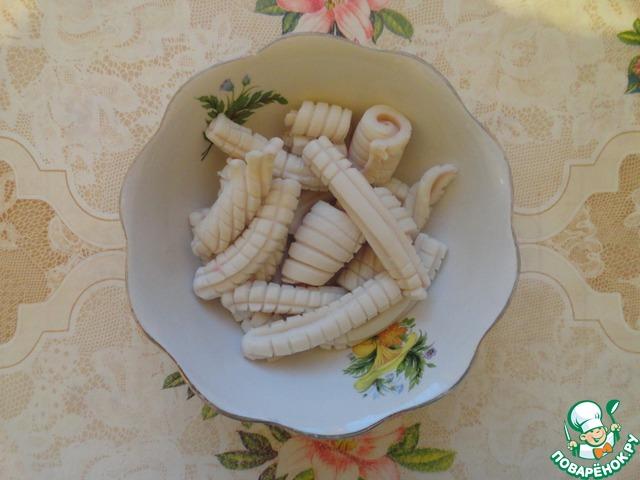 """Кальмары в соевом соусе """"Окинава"""" домашний рецепт с фото пошагово #5"""