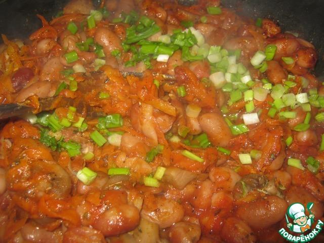 """Готовим Квасоля """"Бабусина"""" домашний рецепт с фото пошагово #7"""