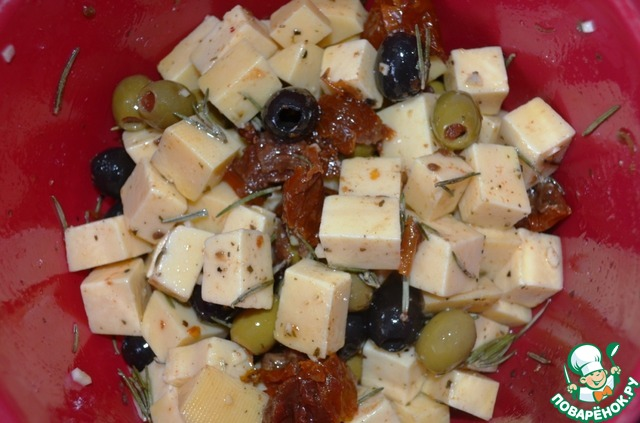 Маринованный сыр вкусный рецепт приготовления с фото #4