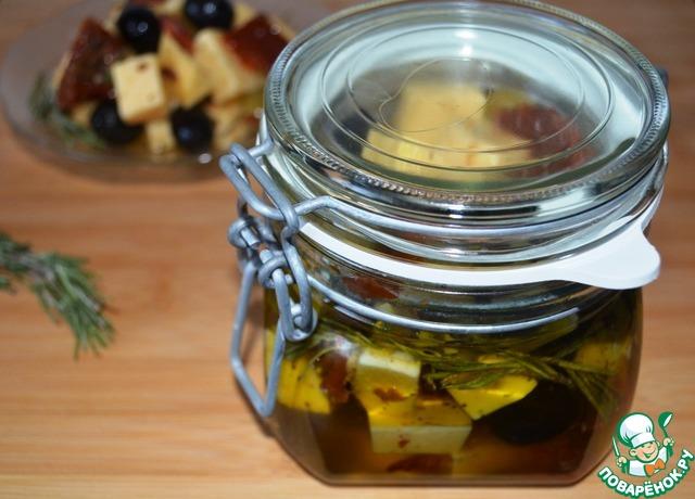 Маринованный сыр вкусный рецепт приготовления с фото #5
