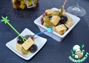 Маринованный сыр вкусный рецепт приготовления с фото на Новый Год