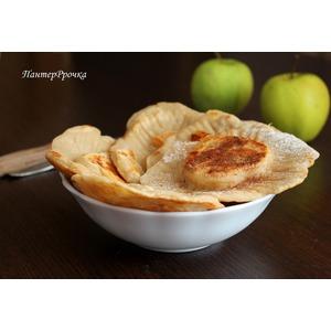 Постные пирожки с яблоками