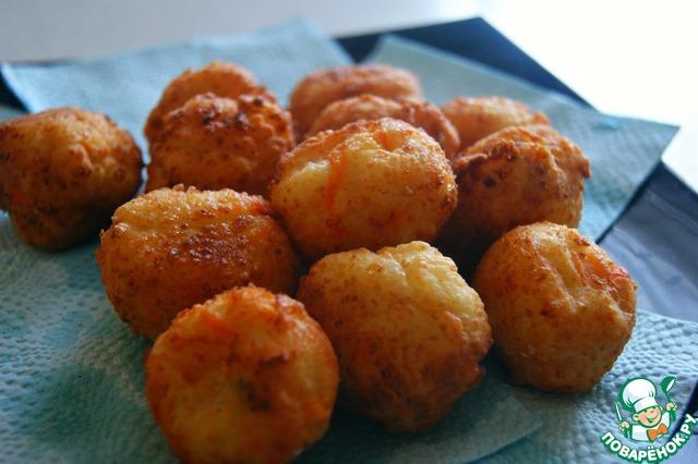 Готовим Творожно-морковные шарики домашний рецепт с фото пошагово #6