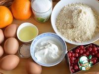 Апельсиново-миндальные пирожные ингредиенты