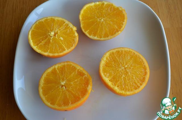 Готовим простой рецепт с фото Апельсиново-миндальные пирожные #2