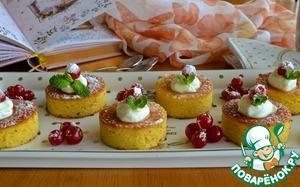 Готовим простой рецепт с фото Апельсиново-миндальные пирожные