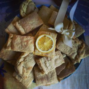 """Рецепт Лимонное печенье """"Желтая подводная лодка"""""""